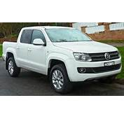 With News Of Volkswagen Apparently Considering The Amarok Pickup For