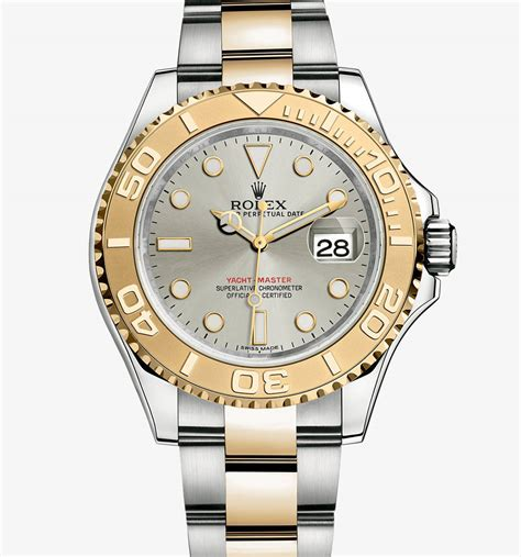 Rolex Kulit Combiyellow swiss rolex fakes yacht master yellow rolesor combination of 904l steel and 18 ct