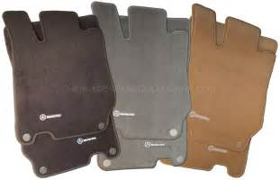 mercedes genuine oem carpeted floor mats sl class