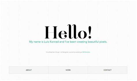 decorator pattern simple exle 60 clean and simple exles of portfolio design