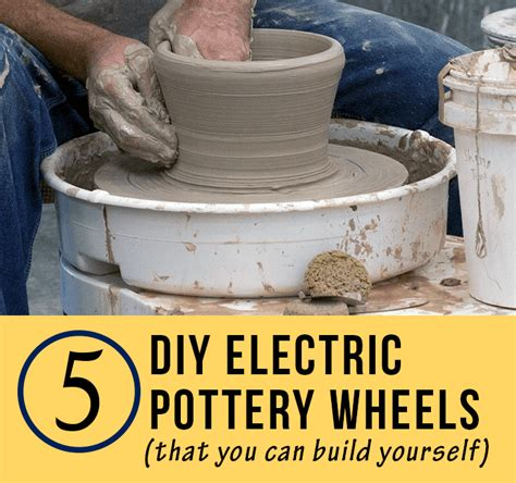 5 diy electric pottery wheels claygeek
