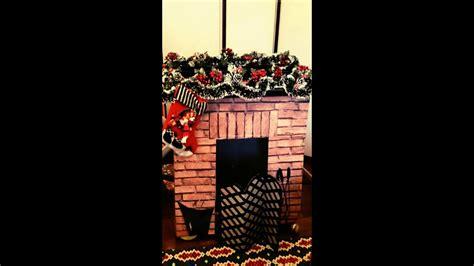 addobbi natalizi per camini fai da te camino per natale fai da te
