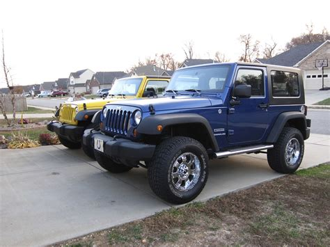 blue jeep 2 door blue jeep wrangler jeep wrangler 2 door lifted blue