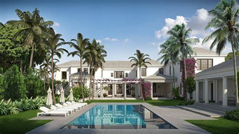 design house associates miami palm beach mansion ok d for russian owned lot with trump