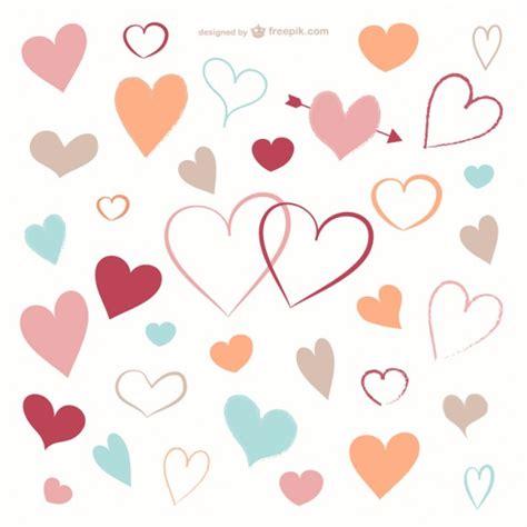 Decorative Hearts by Decorative Hearts Free Vector 123freevectors