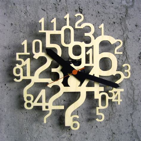 coolest wall clocks uhrzahl a cool modern wall clock