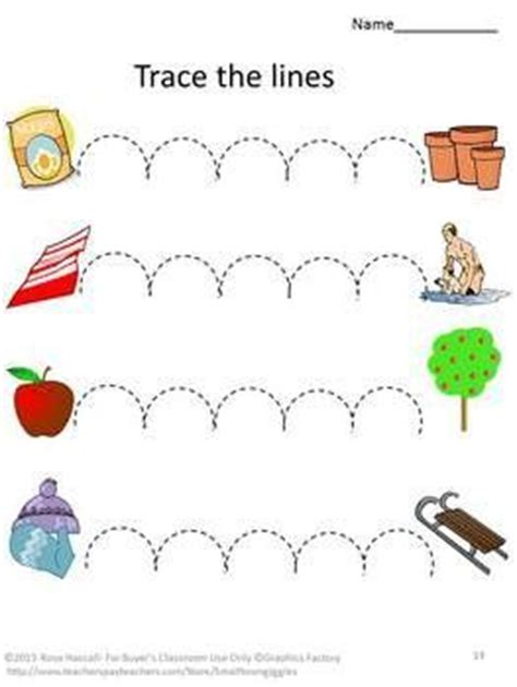 tracing lines preschool worksheets google search a fine motor skills tracing activities p k k special