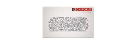 Chipotle Uk Gift Card - chipotle 83 for 100 gift card