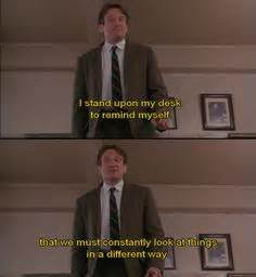 Robin Williams On Pinterest Dead Poets Society Robin Dead Poets Society Standing On Desks