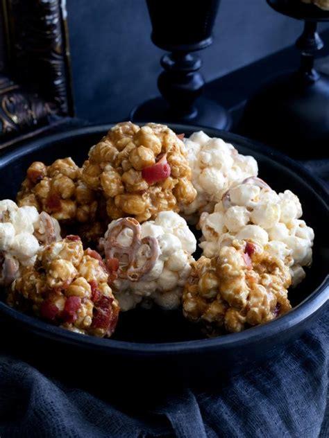 salted caramel popcorn balls recipes