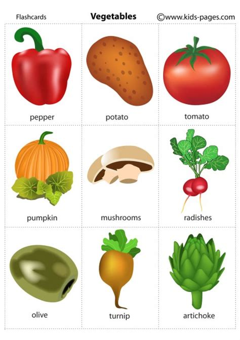 guess d vegetables name pages vegetables 2 free printable flashcards