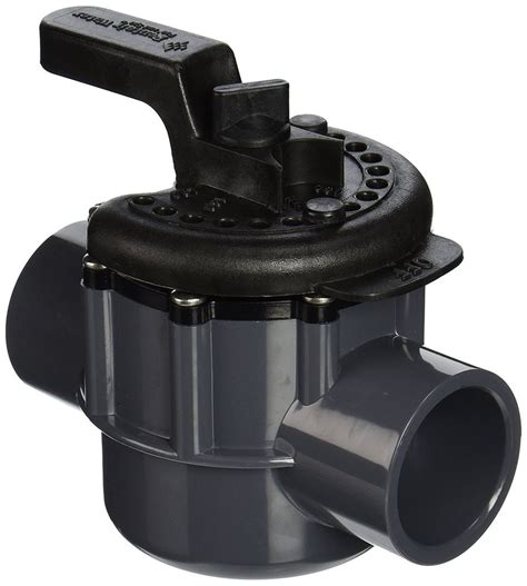 3 Way Valve 1 5 pentair 263038 1 1 2 inch 2 way pvc diverter valve for