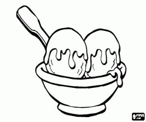 ice cream coloring pages games delicious ice cream with chocolate coloring page printable