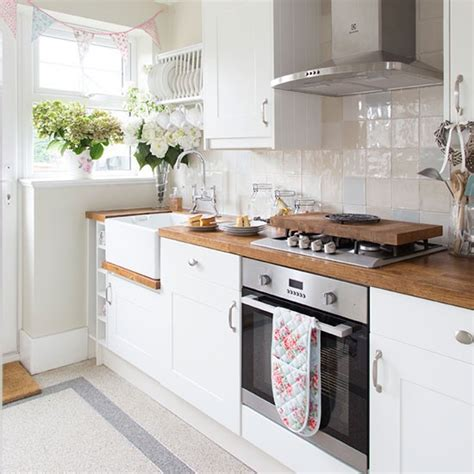 Homebase For Kitchens Furniture Garden Decorating by White Country Style Kitchen With Oak Decorating