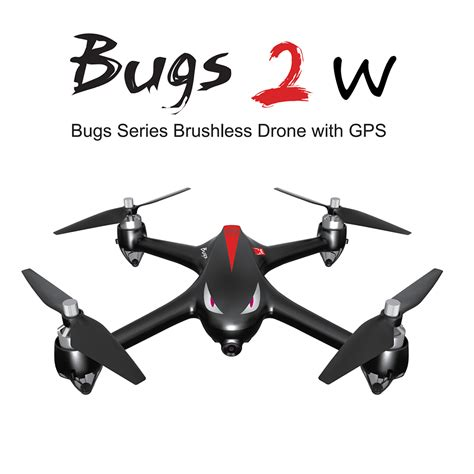 Exclusive Drone Mjx Bugs 2 W Rth B2w Brushless Fpv 1080p Wifi get 16 mjx b2w bugs 2w 2 4g 6 axis gyro brushless motor independent esc 1080p
