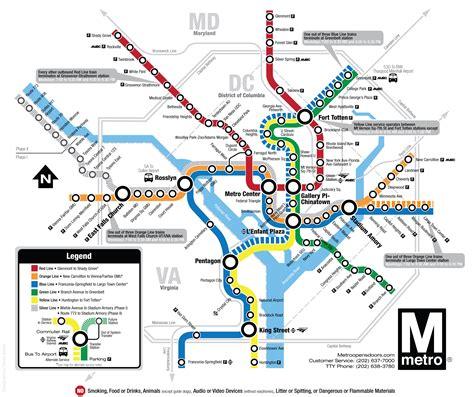 washington dc rail map d c metro map printable pictures to pin on