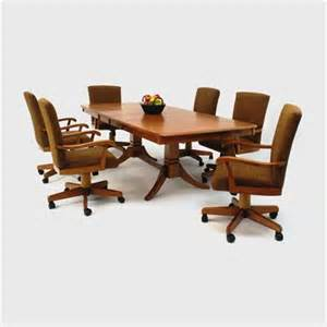 Kitchen Table Sets With Caster Chairs Dining Table Dining Table Set Caster Chairs