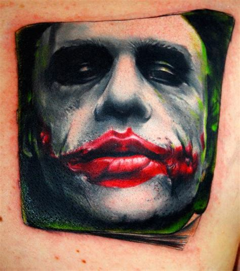 joker tattoo deviantart the joker tattoo by carlyshephard on deviantart