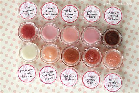 Lipgloss Vaseline lip gloss diy and printable labels inspired