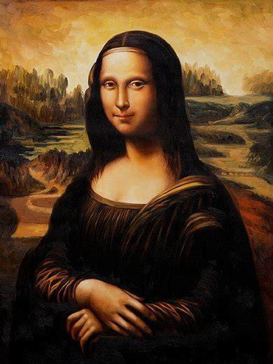 2 Paintings Of Leonardo Da Vinci by Mona Ii Painting Leonardo Da Vinci Mona Ii