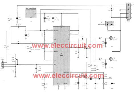 24v dc motor speed controller circuit diagram 12v dc motor speed pwm circuit using tl494
