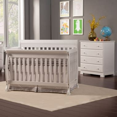 Davinci Kalani Convertible Crib White Da Vinci 2 Nursery Set Kalani Convertible Crib 4 Drawer Dresser White Free
