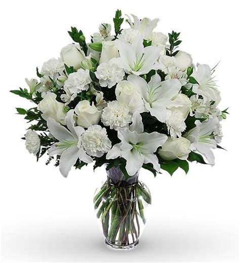 Sympathy Bouquet by Classic Sympathy Bouquet Avas Flowers