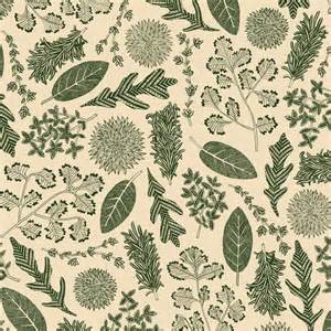 Kitchen Design Sheffield herb fabric pattern james grover freelance illustrator