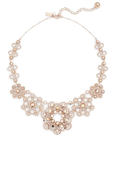Floral Lace Necklace P 175 kate spade new york accessories pearls necklace ksank108 necklaces