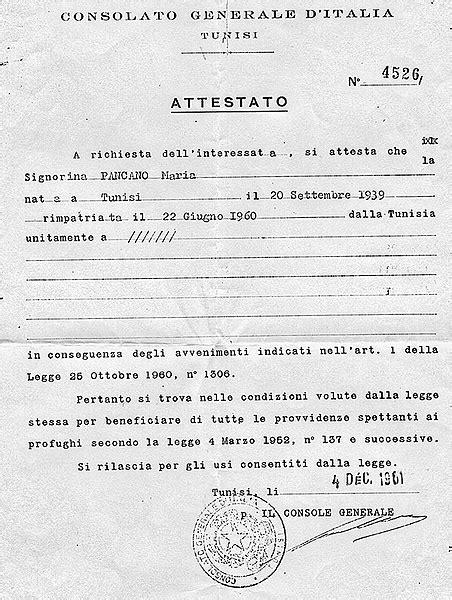 consolato italiano a tunisi rovistando tra vecchi documenti