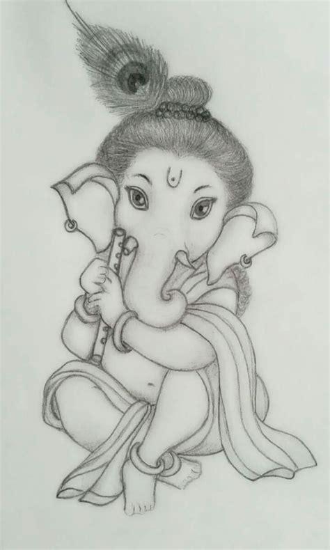 Sketches With Pencil by Ganesh Pencil Sketch Photos Pencil Sketch Of Lord Ganesha