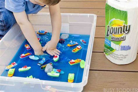 boat lesson plans for toddlers messy boats sticky yummy toddler play busy toddler
