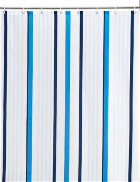 marks and spencer kids curtains thin stripe nautical shower curtain m s