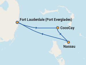 royal caribbean majesty of the seas itineraries: 2018