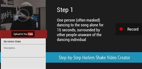 cara membuat youtube harlem shake cara buat video harlem shake di android mega droid