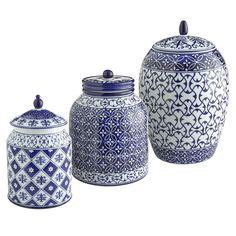 blue and white kitchen canisters 1000 images about canister on pinterest canisters