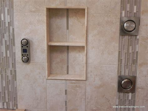 Bathroom Trim Ideas by Recessed Shower Niches Bathroom Renovations