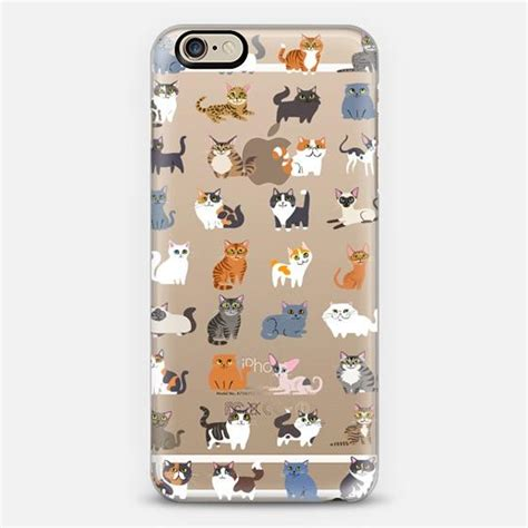 all cats clear iphone 6 by lili from casetify