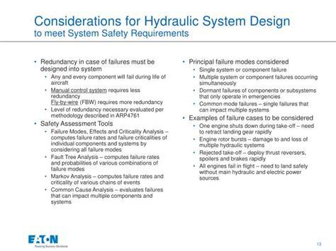 hydraulic design criteria us army ppt aircraft hydraulic system design powerpoint