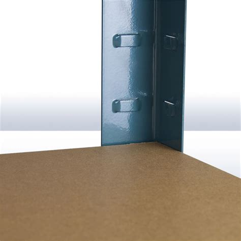 regal verzinkt steckregal kellerregal verzinkt mit 5 holzb 246 den 180x90x45 cm