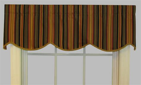 The Cornice Shop Mateo Stripe Cornice Valance Thecurtainshop