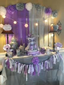 Purple Elephant Baby Shower Decorations by Best 25 Lavender Baby Showers Ideas On