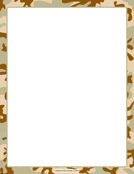 army pattern border army clipart borders 2324722