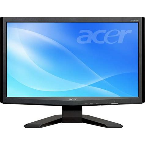 Monitor Notebook Acer acer x203h bd 20 quot widescreen lcd computer et dx3hp 001 b h
