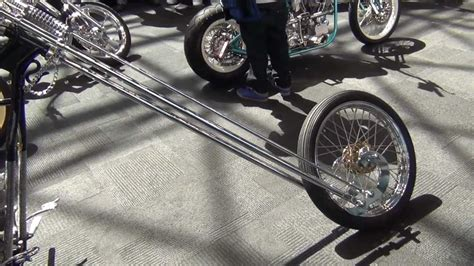 Motorrad Mit Langer Gabel by New York Auto Show 2013 Chaos Cycle Fork Motorcycle