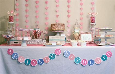 Baby Shower Themes For by Sprinkle Baby Shower Theme Ideas Pink Hearts And Colorful