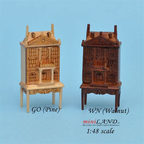 doll house table 1 48 scale dollhouse for dollhouse walnut with table