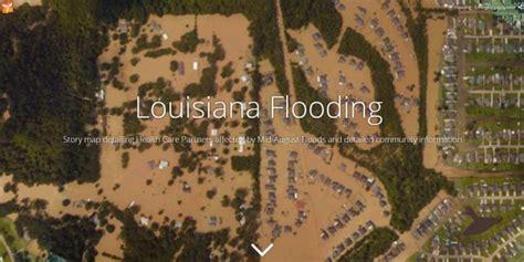 louisiana map flooding louisiana floods averting emergencies among evacuees