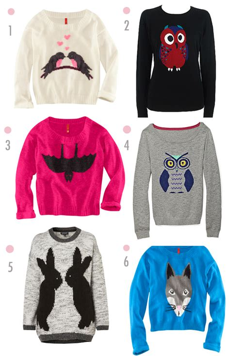 Animal Pullover fall trend animal motif sweaters viva fashion