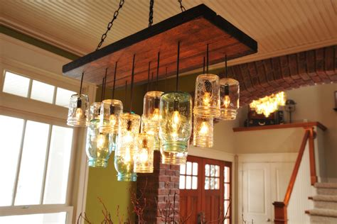 mason jar dining room light find the uniqueness and breathtaking home lighting by